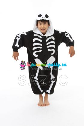 Кигуруми для детей Скелет