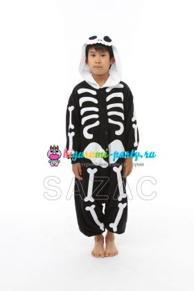 Кигуруми для детей Скелет (анфас)