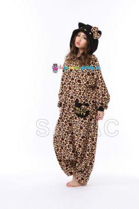 Кигуруми Хелло Китти Леопард коричневый новый (волоборота)