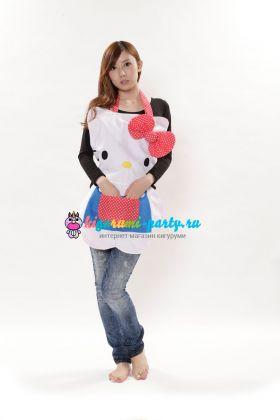 Кигуруми фартук Хелло Китти / Kigurumi apron Hello Kitty (сзади)
