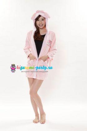 Кигуруми халат Моя Мелодия розовый / Kigurumi Bathrobe My Melody PK