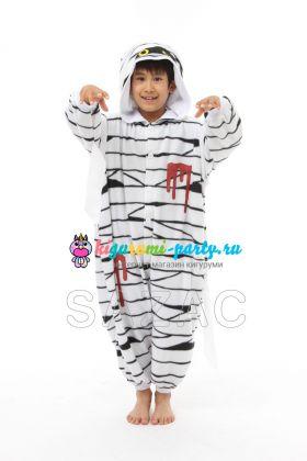 Кигуруми детский Мумия (вполоборота)