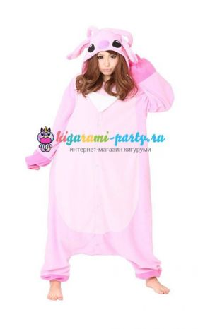 Кигуруми Энджел из м/ф Лило и Стич / англ. Kigurumi Angel from m/f Lilo and Stitch