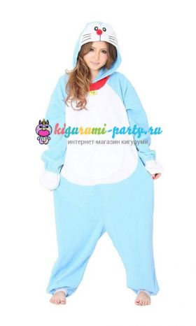 Кигуруми Дораэмон по манге Дораэмон / англ. Kigurumi Doraemon based on the manga Doraemon