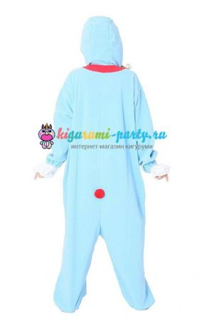 Кигуруми Дораэмон по манге Дораэмон / англ. Kigurumi Doraemon based on the manga Doraemon (сзади)
