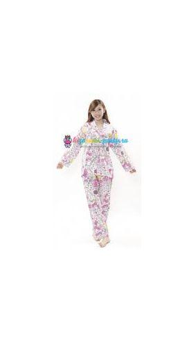 Кигуруми пижама Моя Мелодия Маймеро селфи / Kigurumi pizhama Check My Melody Maimero (анфас)