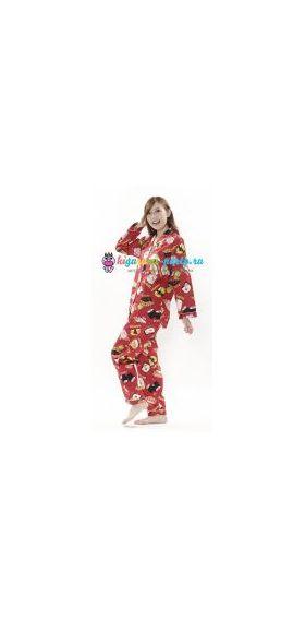 Кигуруми пижама Хелло Китти суши (вполоборота)